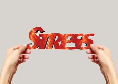 De Hand, Houden, Lettertype, Stress